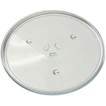"""Universel pour micro-ondes Morphy Richards Plaque de verre plat 245 mm 24,5 cm 9,5 /"""""""