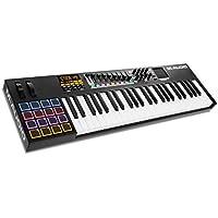 M-Audio Code 49 - Controlador MIDI USB con 49 teclas, 16 pads y controles para la producción, interpretación, VIP 3.0 y paquete de software incluido, color negro