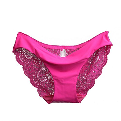 OverDose Women lace Panties Seamless Cotton Panty Hollow briefs Underwear(Large 3c92ce83f