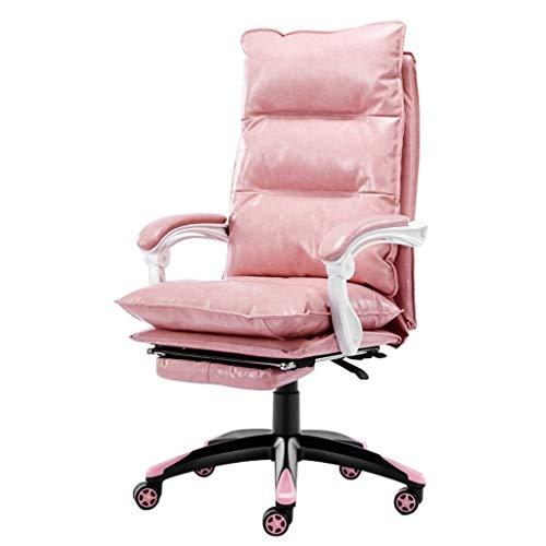 LMDC PU-Leder Executive Bürostuhl Schreibtisch Aufgabe Computer Stuhl Drehstuhl mit hoher Rückenlehne