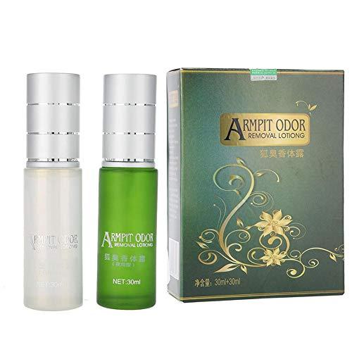 Antitranspirant Set, Körpergeruchsbekämpfung Achselschweiß Achselgeruchsbekämpfung Kräuterspray Wasser, 30 + 30ml - Protection Anti Perspirant Deodorant Spray