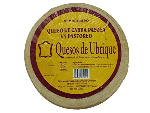 Queso de cabra Payoya Semicurado 1,400 kg aprox. Envío GRATIS 24h.