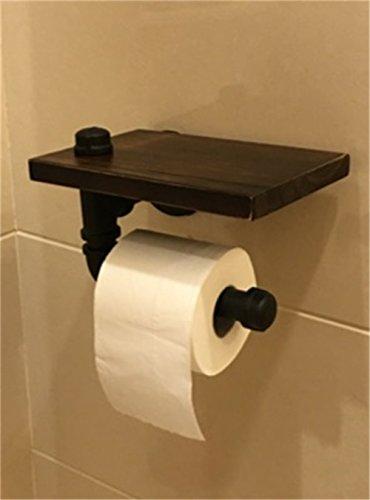 Hotel Stil Handtuchhalter (FHLYCF Nach europäischen Stil - Schlauch Holz Papier handtuchhalter, regalen, Hotel Bad, Wand hängen Papier - Box ())