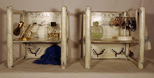 Coppia di mobiletti per bagno - Mod.