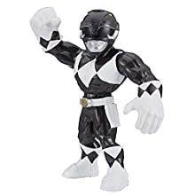 Power Rangers Playskool Super Hero Adventures Mega Mighties - Figurine Ranger Noir - 25 cm