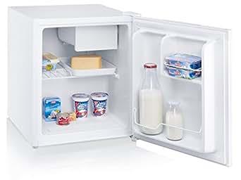 SEVERIN KS 9838 Mini-Kühlschrank/A++/52.3 cm 84 kWh/Jahr/42 L Kühlteil/besonders energiesparend/Ideal für Singles, Studenten oder Büros/Weiß
