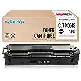 Mycartridge kompatibel Samsung CLT-K504S Schwarz Tonerpatrone für Samsung CLP-415N CLP-415NW CLX-4195FN CLX-4195FW CLX-4195N Samsung Xpress SL-C1860FW SL-C1810W