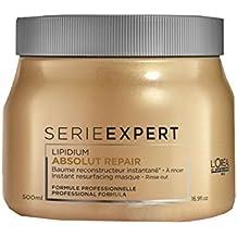 LOréal Professionnel - Absolut Repair Lipidium - Bálsamo reconstructor instantáneo para cabello muy dañado