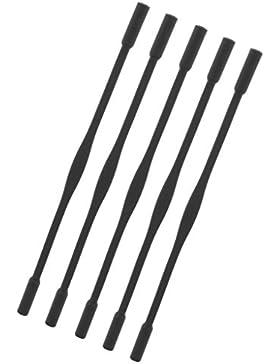 Sharplace 5 Pcs di Corda Cinturino Cavo Antiscivolo per Bambini Sport Occhiali da Sole in Silicone