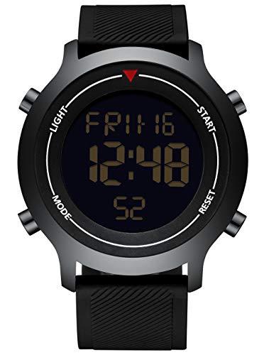 Herrenuhren Männer Uhren Sport Digitale Led Wasserdichte Uhr Luxus Männer Analog Digital Military Armee Mode Männer Elektronische Uhren Exzellente QualitäT Uhren