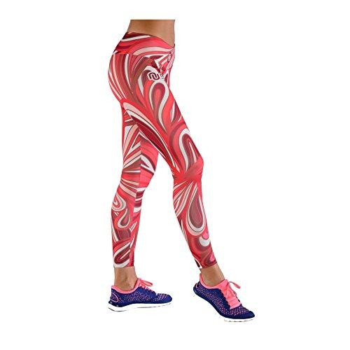 Nessi long pantalon leggings pour femme oSLK sport respirant - 02 Rotekreise