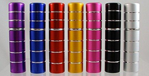 Flacon Vaporisateur 5ml Rouge Vide Sac Atomiseur de Poche Verre Spray
