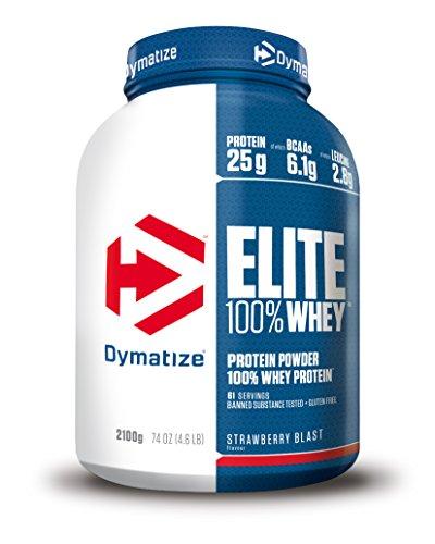 Dymatize Elite Whey Strawberry Blast - 2100 gr