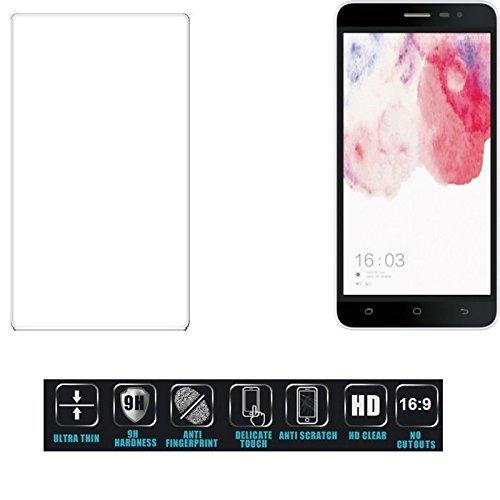 Für Hisense F20 Dual-SIM Schutzglas Glas Schutzfolie Glasfolie Bildschirmschutzfolie Bildschirmschutz Hartglas Tempered Glass Verb&glas für Hisense F20 Dual-SIM 16:9 Format, bedeckt nicht die Seite