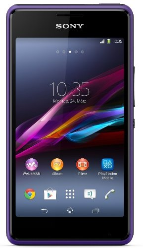 Sony Xperia E1 Smartphone (10,2 cm (4 Zoll) TFT-Display, 1,2GHz Dual-Core, 3 Megapixel Kamera, Android 4.3) violett