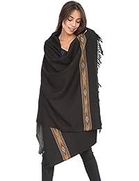 Takhi Merino Handwoven Shawl & Oversize Scarf