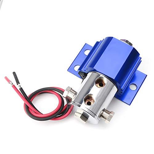 HermosaUKnight Bremsleitungssperre Roll Control Hill Halter Licht & Schalter Reifenschließfach Racing Parts Blau - Release Solenoid