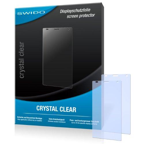 2 x SWIDO Crystal Clear Pellicola protettiva per LG P880 Optimus 4X HD/P-880 - Protezione cristallina e resistente per il display! QUALITA' PREMIUM - Made in Germany