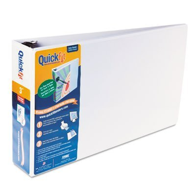 stride-quick-fit-ledger-d-ring-binder-3-capacity-11-x-17-white-sold-as-1-each-spine-and-front-accept