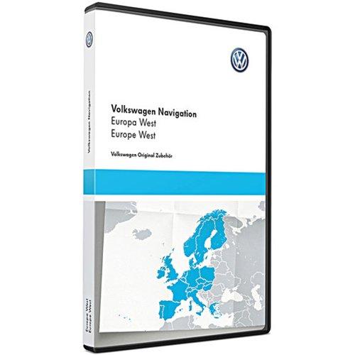 Preisvergleich Produktbild Original Volkswagen DVD-ROM Navigation V14 Europa West RNS 510/810 Navigationssystem CY Navi Software VW Update 1T0051859AM