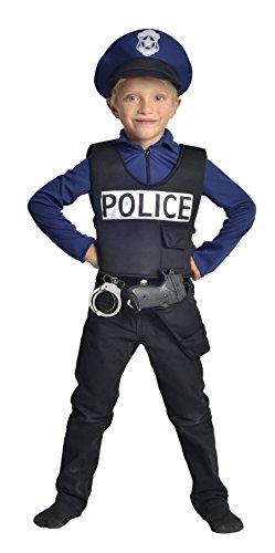 Cesar F586 Kostüm Polizist-3/5Jahre (Polizisten Kostüm Kinder)