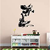 DLYD Captain with Crocodile Comic Wall Sticker Vinyl Wall Decal Children's Room, Art Wall Sticker Boy Girl Bedroom Decor,