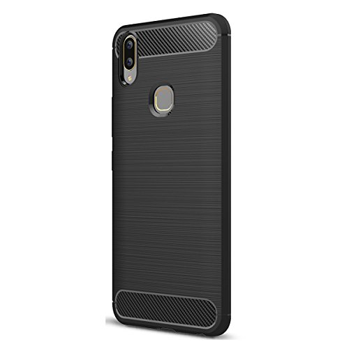 VIVO V9/Y85 Hülle, Ultra Light Slim Shockproof Silikon TPU [Anti Slip] [Kratzfest] Case für VIVO V9/Y85 Schutzhülle - Schwarz Ultra Light Case