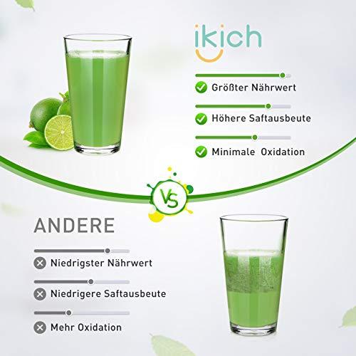 Slow Juicer IKICH Entsafter Bild 3*