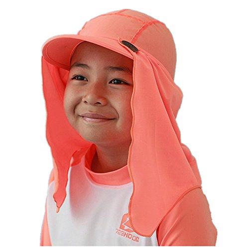 Kindermütze,Unisex Kinder Fischerhut Hut Multifunktions Sommer und Herbst hut UV Schutz Nacken schutz Strand (Hut Bowler Mini)