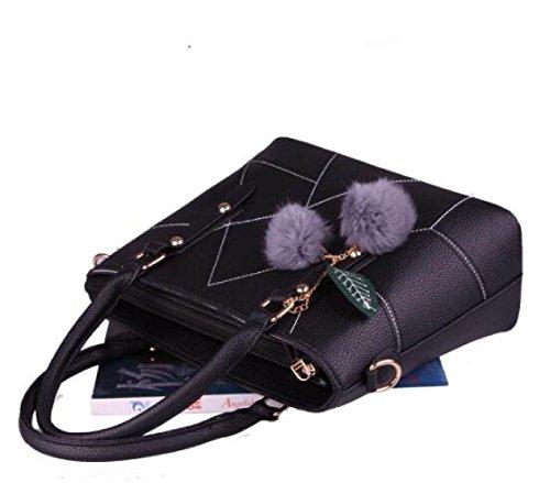 Stilvolle Elegante Einfache Damen Handtasche Umhängetasche Messenger Bag A