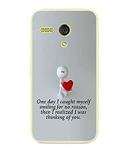FUSON Designer Back Case Cover for Motorola Moto G :: Motorola Moto G (1st Gen) :: Motorola Moto G Dual (Illustration Inspiration Change Motivate )