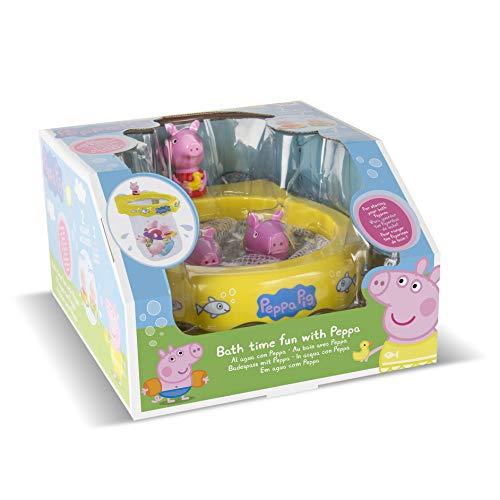 IMC Toys- Peppa Pig Al Al Agua con 2 Figuras Incluidas (360112)