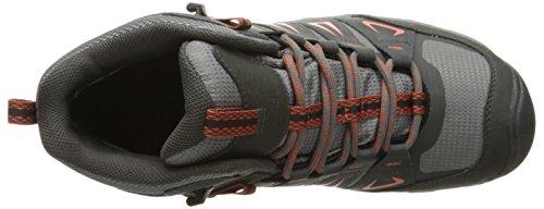 Keen Oakridge Mid, Chaussures de Randonnée Hautes Homme, Magnet/Gargoyle Gris (Raven/Burnt Ochre)
