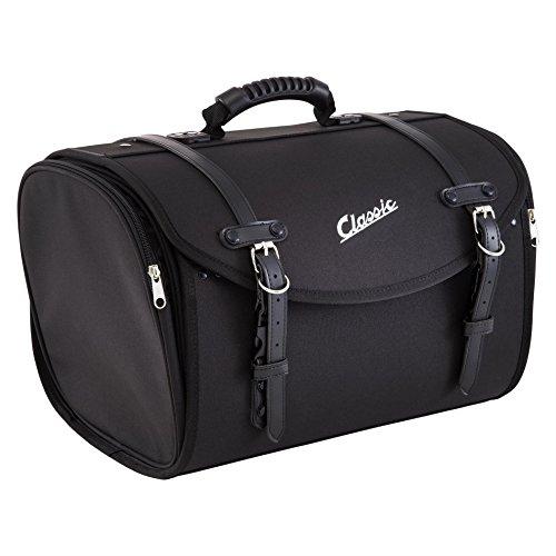 SIP, borsa, bauletto piccolo, adatta per portapacchi, 480mm x 300 mmx 270mm, circa 35l, in nylon, nera