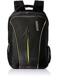 American Tourister Polyester 32 Ltrs Black Laptop Backpack (AMT JUKE LAPTOP BKPK 02-BLACK)