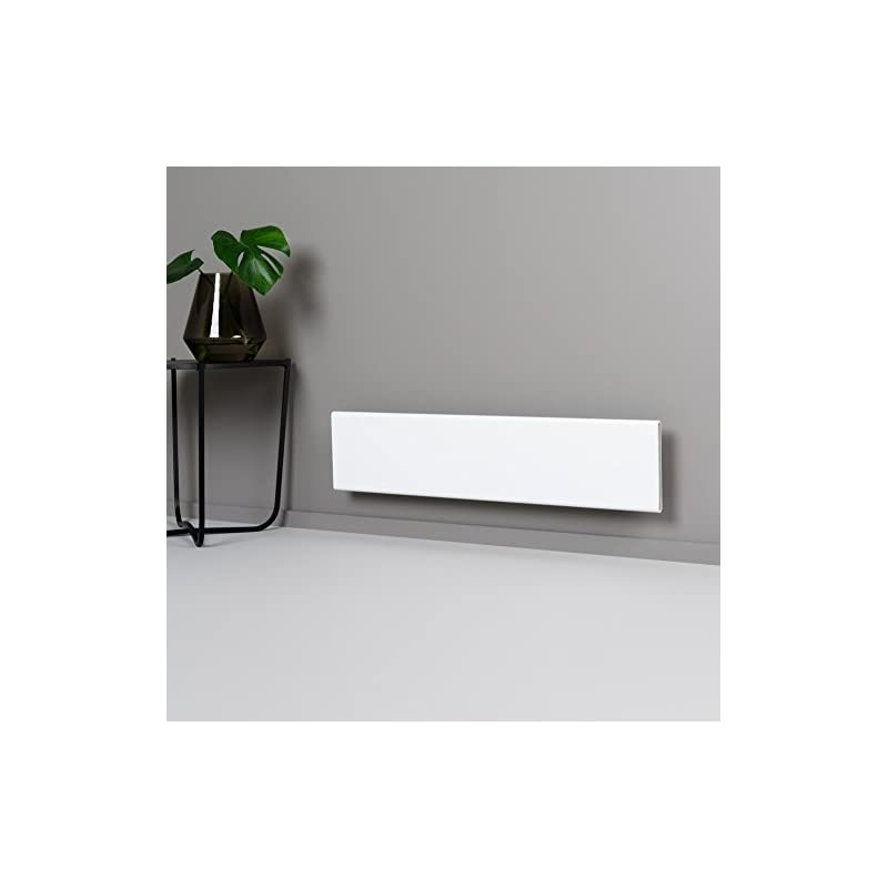 ADAX Neo Smart Wifi Low Profile Electric Panel Heater/Convector Radiator With Timer. Smartphone Control, Splash Proof…