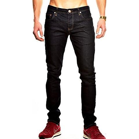Tazzio Slim Fit Jeans da uomo pantaloni denim 14500