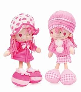 Small Foot Company - 6908 - Poupées - Nora Et Emily - Lot De 2