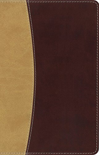 Amplified Holy Bible, Compact, Leathersoft, Tan/Burgundy: Captures the Full Meaning Behind the Original Greek and Hebrew