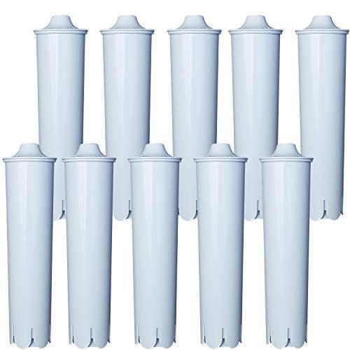 10 x Wasserfilter   Kartuschen   Filterpatronen für JURA CLARIS BLUE ☕   CLEARYL   kompatibel   Kaffeemaschine   Kaffeevollautoamat
