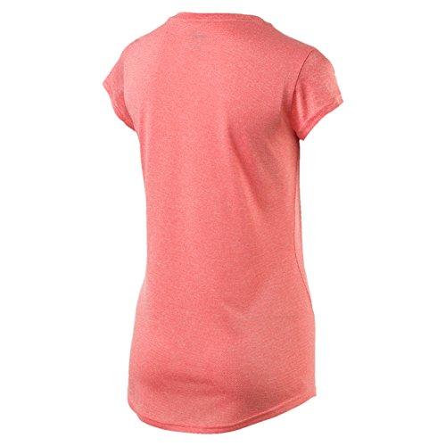 Puma Damen Active Ess Number 1 Tee W T-Shirt nrgy peach
