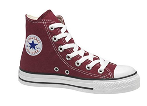 Converse Chuck Taylor All Star Hi, Baskets mode mixte adulte Rouge - rouge