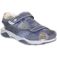 Primigi - Primigi Sandaletti Bambino Blu Pelle Tela Strappi (Primigi Bambini Blu Sandali)