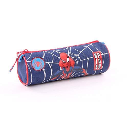 Vadobag Spiderman Estuches 30 Centimeters Azul (Bleu Et Rouge)