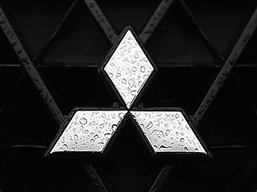 Sticker-Designs® Mitsubishi Logo Auto-AUFKLEBER-UV&Waschanlagenfest-8cm AC113 viele Jahre haltbar,Hochleistungs-Druck,UV&Waschanlagenfest,schutzbeschichtete,kratzfeste,Profi-Qualität,bunt ohne Hintergrund-FREIGESTELLT-,Motiv auf Kontur(Umriss)ausgeschnitten(Bild)!Alle Autos+Lacke geeignet.SCHNELL,EINFACH ZU VERKLEBEN auf Scheiben,PKW,Motorrad,Tuning,Sponsoring,Camping,alle glatten Flächen,Wandtattoo,Roller,Heckscheibe,Stoßstange,Helm.MADE IN GERMANY (Mitsubishi Auto Aufkleber)