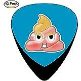 Sherly Yard Poop Anger Celluloid Guitar Picks Designs uniques Musique Cadeaux