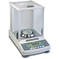 Analytical balance with type approval [Kern ABT 220-4M] The premium model with single-cell weighing system, Weighing Range [Max]: 220 g, Readout [d]: 0,1 g, Reproducibility: 0,1 g, Linearity: 0,2 g - Analytical Balance