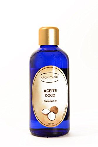 Aceite de Coco 100 ml. - Cuidado de cabello, cara y cuerpo