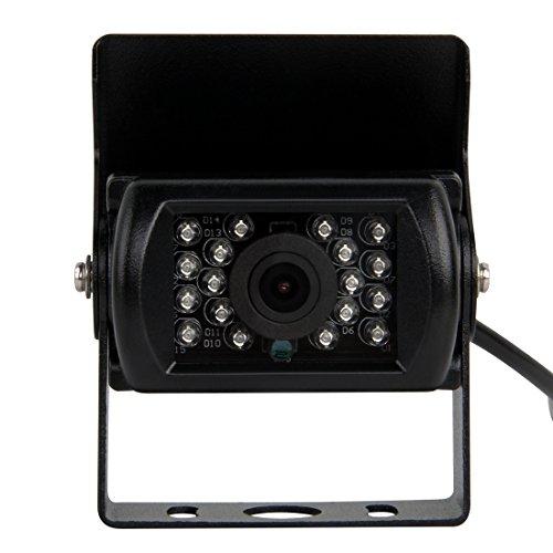Pathson Cámara de Reserva reversa Impermeable de la Vista Posterior del Coche en la visión Nocturna del LED para el Coche/los carros/Las caravanas