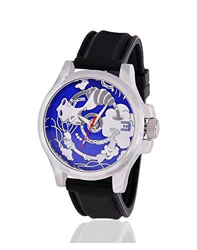 Yepme Men's Canvastic Men's Watch - Blue/Black-YPMWATCH0730 image
